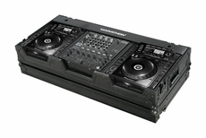 Marathon (MA-CDJ2K12WBLK) Black Series Coffin Holds 2 x Large format CD Players