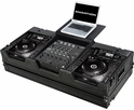 Marathon (MA-CDJ2K12WLTBLK) Black Series Coffin Holds 2 x Large format CD Players