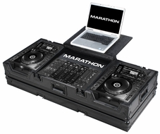 Marathon (MA-CDJ2K19W) Black Series Coffin - Holds 2 x Large format CD Players