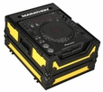 Marathon (MA-CDJ900BLKYLW) Yellow-Black Series - Case for Pioneer CDJ900, CDJ-850, CDJ-800 and All Other Large format CD / Digital Turntables