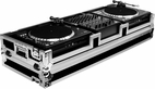 Marathon (MA-CDT12W) mixer & cd/ turntable coffin holds 2 x gemini cdt-05 cd turntable cd player