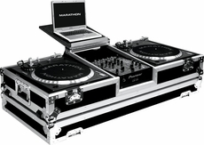 Marathon (MA-DJ10WLTB) holds 2 turntables in battle style position