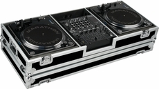Marathon (MA-DJ12WB) HOLDS TWO TURNTABLES IN BATTLE STYLE POSITION