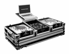 Marathon (MA-DJCD10WLT) Cases Holds 2 x Large Format CD Players
