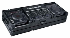 Marathon (MA-DJCD19WBLK) Black Series, Coffin Holds 2 x Large Format CD Players