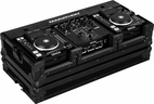 "Marathon (MA-DNSX1200BLK) Holds 2 x Small format Cd Players Plus 10"" Mixer"