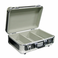 Marathon (MA-ECD-3BK) 3 Row Professional CD Case Holds 60 Jewel Case and 200 Plastic Sleeves
