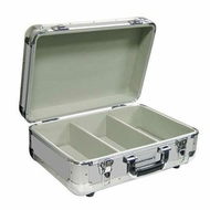 Marathon (MA-ECD-3S) Euro Style, 3 Row Professional CD Case Holds 60 Jewel Cases and 200 Plastic Sleeves