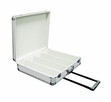 Marathon (MA-ECD-4HW) Eseries Four Row Cd Case With Wheels & Handle Holds 200 Jewel Cases or 600 Sleeves
