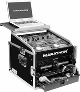 Marathon (MA-M6ULT) Combo Case with Laptop Shelf