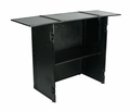 Marathon (MA-STANDBLK) Black Series Universal Stand With Integrated Table top & Shelf Combo