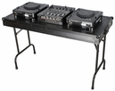 "Marathon (MA-TABLE48BLK) ""Black Series"" Universal Fold Out DJ Table 48W/ 21D/ (30""H)"