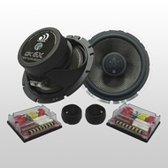 Massive Audio (CK 6X) 2-way Kit, 200-400w Max, Cast basket / 28mm Silk Dome Tweeter