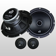 Massive Audio (DK-65) 2-way component Kit, 60w - 120w Max, 13mm Tweeter, In-line X-Over