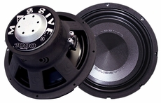 "Massive Audio (REBEL-15) 15"" Subwoofer, 2"" Dual 4 OHM, 500 Watt RMS / 1000 Watt Max"