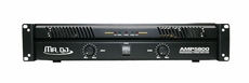 Mr. Dj (AMP-6800) 6800W Max, 2-Channel Dynamic Series Power Amplifier