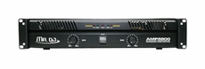 Mr. Dj (AMP-8800) 8800W Max, 2-Channel Dynamic Series Power Amplifier