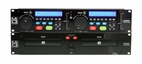 Mr. Dj (CD-6800) Professional DJ CD/ MP3 Player with Dual Disc Drive and Remote Control