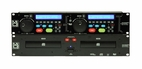 Mr. Dj (CD-7800MP3) Professional DJ CD/ MP3 Player with Dual-CD-Disc Drive and Remote