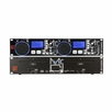 Mr. Dj (CD-8800USB) Double CD Player with USB and SD Card Ports for External Mp3 Player Hookup