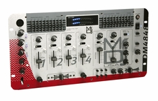 "Mr. Dj (DM-4848) 4-Channel, 19"" Rack Mount Stereo DJ Mixer with 2 Microphone"
