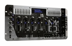 Mr. Dj (DM-5858) Professional DJ Mixer with Dual 10-Band Graphic Equalizer