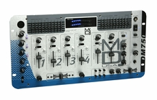 "Mr. Dj (DM-750) 4-Channel, 19"" Rack Mount Stereo DJ Mixer with 2 Microphone"