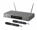 Mr. Dj (MICVHF-5000) Dual, 2-Channel Professional VHF Wireless Microphone System