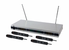 Mr. Dj (MICVHF-8000) Complete Professional VHF Wireless Microphone System