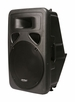 "Mr. Dj (PATPS-1500) Patron Single 15"" Speaker Box, Molded Plastic"