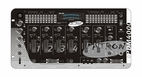 "Mr. Dj (PDM-4000) Patron PMD4000 4-Channel, 19"" Rack Mount Stereo DJ Mixer with 2 Microphone"