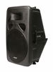 "Mr. Dj (PSA-2500P) Patron 15"" Molded Plastic Amplified Loud Speaker"