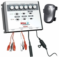 Boss (MR20PA) Marine Public Address System, with Microphone