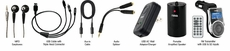 Naxa (NA-3009) 9 In 1 Premium Accessory Kit for MP3/ MP4 Players & Mobile Devices