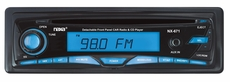 Naxa (NCA-671) Detachable Stereo AM/ FM Car Radio with Compact Disc Player & Aux-In Jack