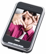 "Naxa (NMV-155) Portable Media Player with 2.8"" Touch Screen, Built-in 4GB Flash Memory, Camera, PLL Digital FM Radio"