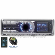 Nitro Audio (BMWX-4679) CD/MP3/WMA Player, AM/FM Radio, 30 Preset Stations, Bluetooth, USB/SD Card Interface, Flip-Down/Detachable Front Panel, Aux