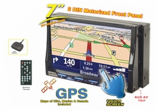 """Nitro (BMWX-GLOBAL) 7"""" Touch Screen DVD/CD Player, Built-in GPS Navigation"""