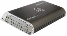 O2 Audio (OA1800.2) 2 Channel Amplifier, 1800 Watts