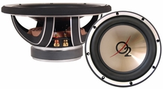 "O2 Audio (OW10) 10"" Subwoofer, Dual 4 Ohm Voice Coil"