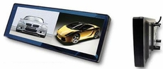 """Optix (RVM102) Rearview Clip-On 10.2"""" TFT Dual View LCD Mirror Mobile Video Monitor"""