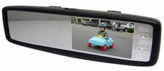 "Optix (RVM430BT) 4.3"" Wide Screen Rear View Mirror Touch Screen LCD Monitor with Optional Bluetooth"