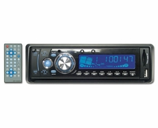 Phonics Digital (PD-2998) In-Dash Am/Fm/Mpx Multidisc Player With Usb & Sd Card Reader, Flip-Down Detachable Face