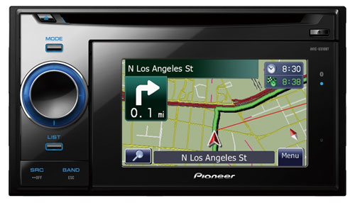 pioneer (avic u310bt) in dash navigation receiver with cd playback pioneer radio with navigation & backup camera at Pioneer Radio With Navigation