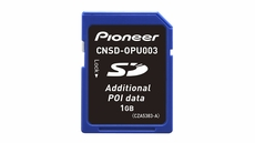 Pioneer (CNSD-OPU003) Additional POI Data for AVIC-U310BT