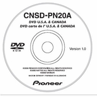 Pioneer (CNSD-PN20A) 2008 Upgrade for the Portable Smart GPS Navigation (AVIC-S1)