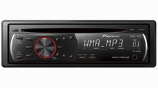 Pioneer (DEH-1200MP) CD Receiver with MP3/WMA Playback and Remote Control