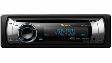 Pioneer (DEH-P410UB) Premier CD Receiver with OEL Display, USB Direct Control for iPod, and Rotary Commander