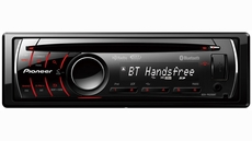 Pioneer (DEH-P6200BT) CD Receiver with Built-In Bluetooth and USB Direct Control of iPod