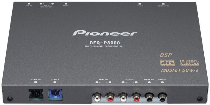 Pioneer Deq P8000 5 1 Channel Digital Audio Processor
